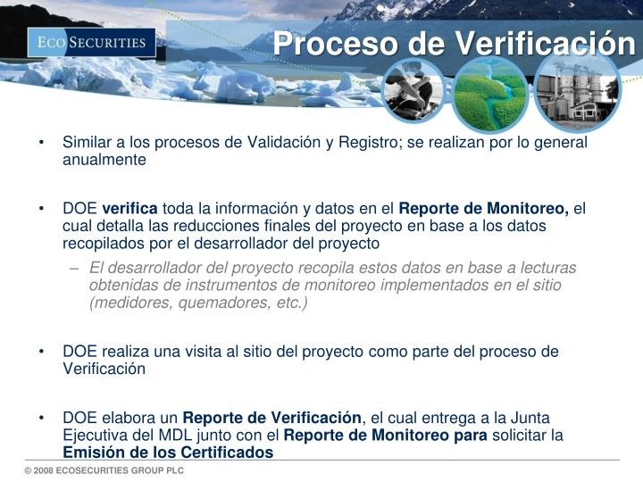 Proceso de Verificaci