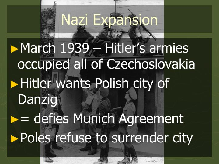 Nazi expansion