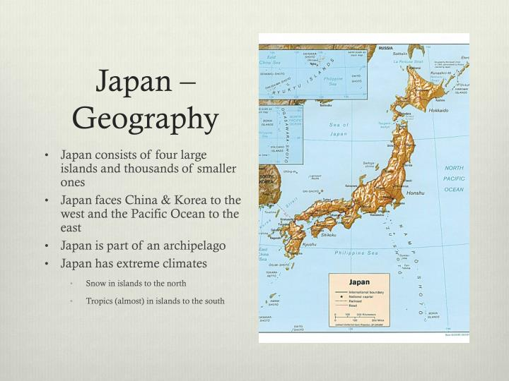 Japan geography