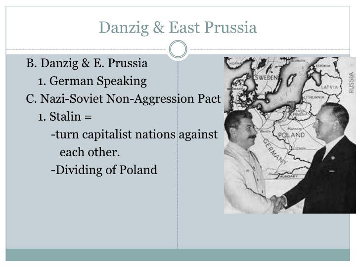Danzig & East Prussia
