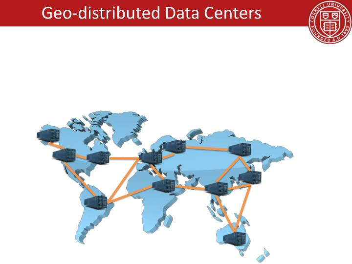 Geo-distributed