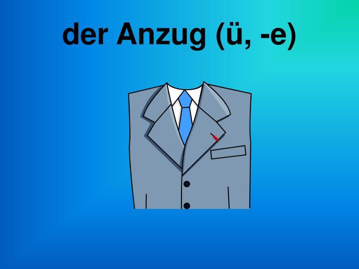 der Anzug (