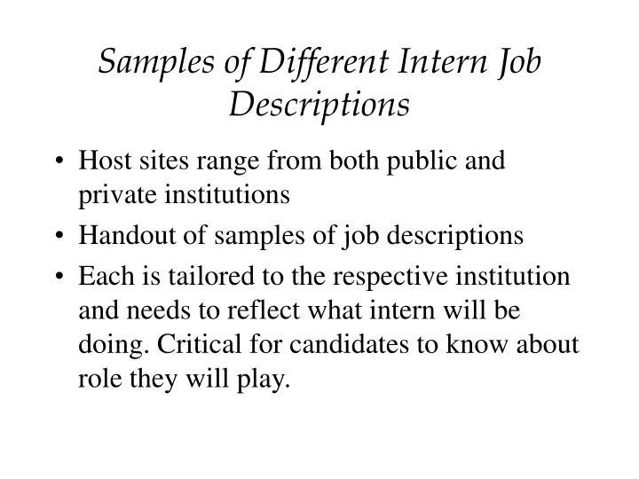 Sample Intern Job Description 2 Position Accounting Intern Date – Accounting Intern Job Description