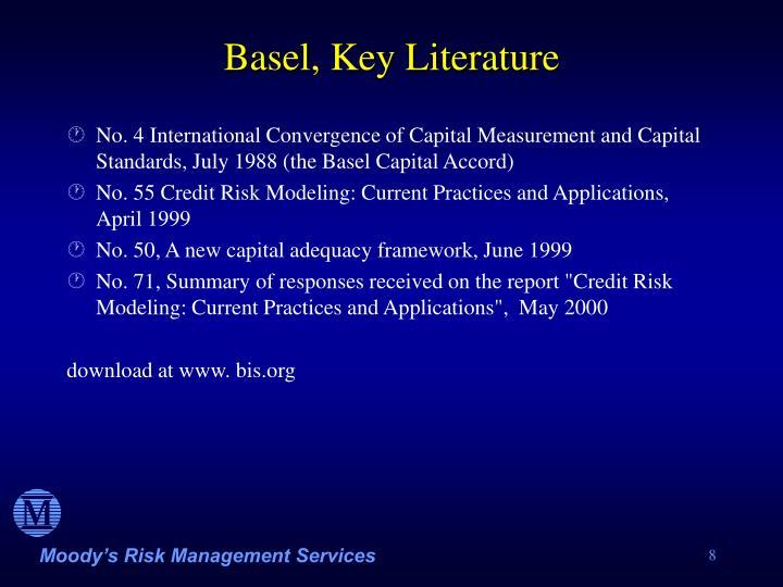 Basel, Key Literature