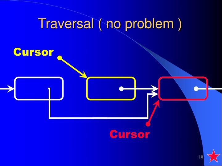 Traversal ( no problem )