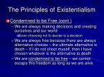 the principles of existentialism10