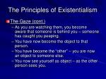 the principles of existentialism16