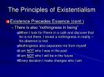 the principles of existentialism3