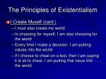 the principles of existentialism7