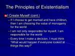 the principles of existentialism8