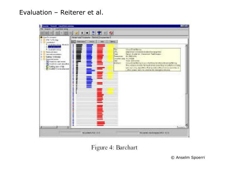 Evaluation – Reiterer et al.
