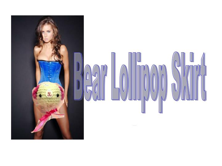 Bear Lollipop Skirt