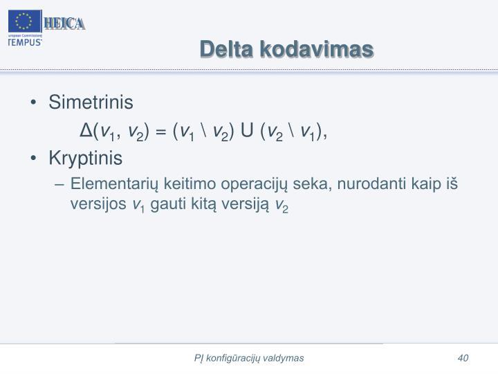 Delta kodavimas