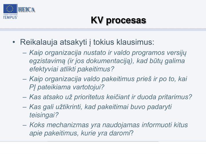 KV procesas
