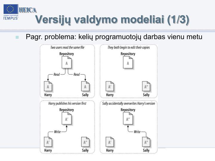 Versijų valdymo modeliai