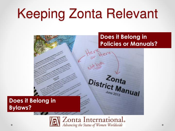 Keeping Zonta Relevant
