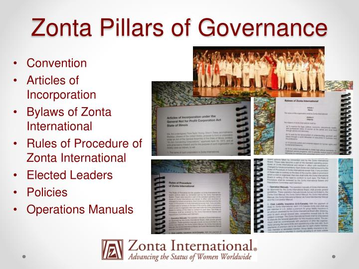 Zonta Pillars of Governance