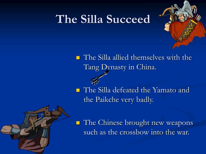 The Silla Succeed