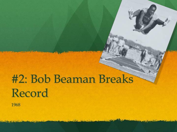 #2: Bob