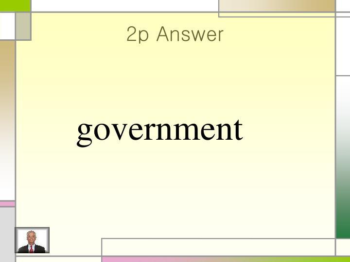 2p Answer