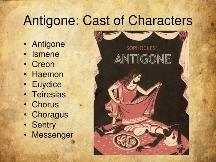 a comparison of antigone and ismene in the antigone by sophocles
