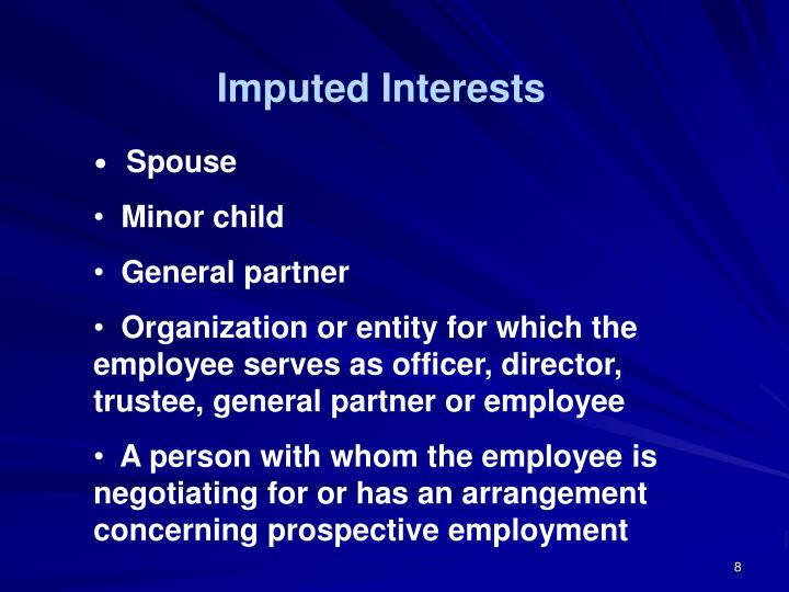 Imputed Interests