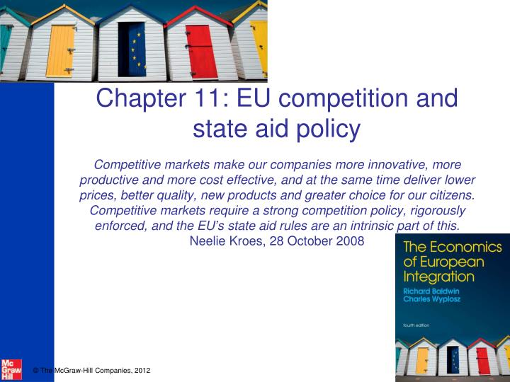Chapter 11: EU competition and