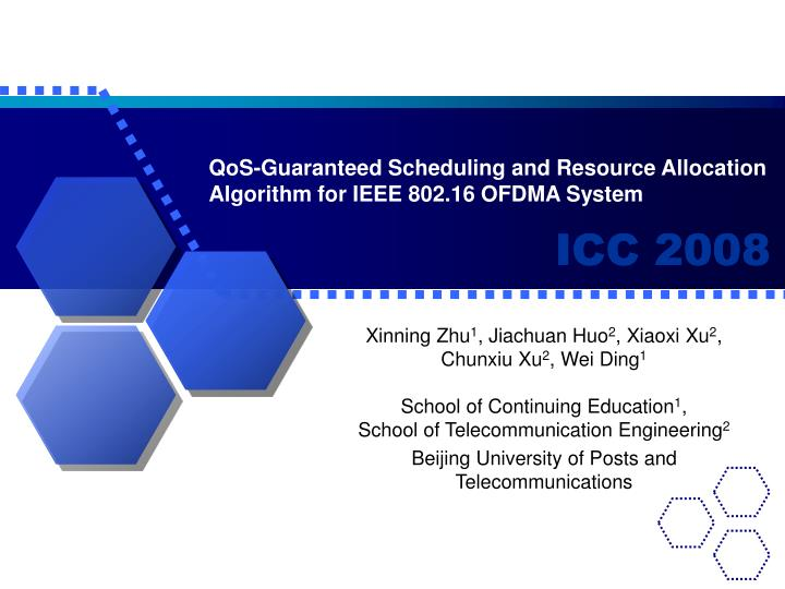 Qos guaranteed scheduling and resource allocation algorithm for ieee 802 16 ofdma system