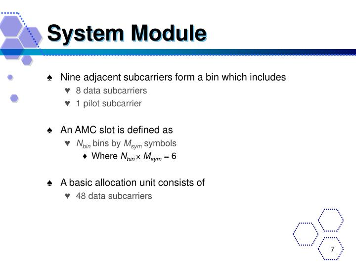 System Module