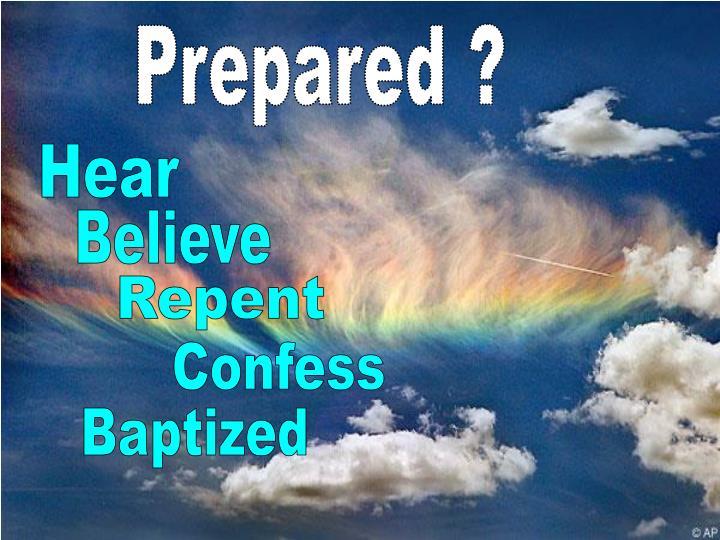 Prepared ?