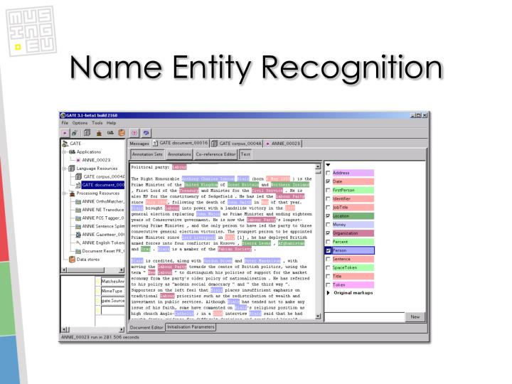Name Entity Recognition