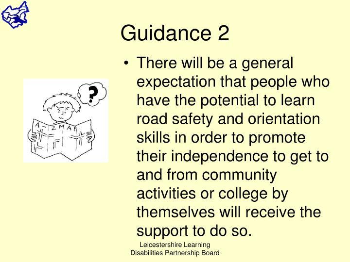 Guidance 2