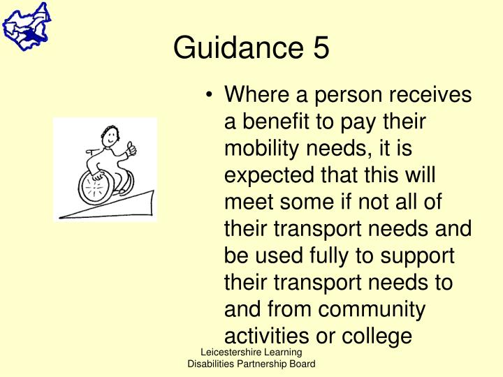 Guidance 5