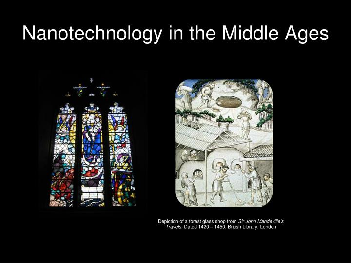 Nanotechnology in the Middle Ages