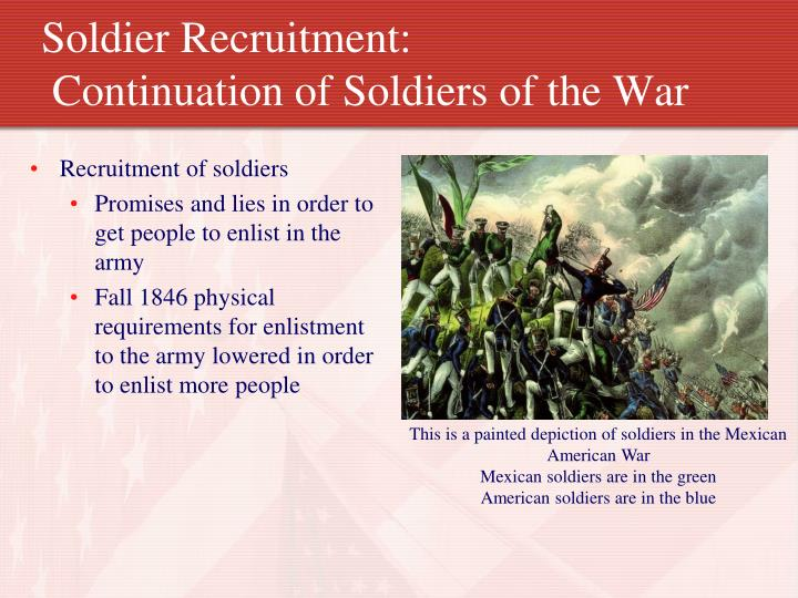 Soldier Recruitment: