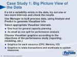 case study 1 big picture view of the data