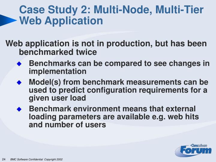 Case Study 2: Multi-Node, Multi-Tier Web Application