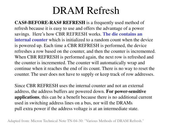 DRAM Refresh