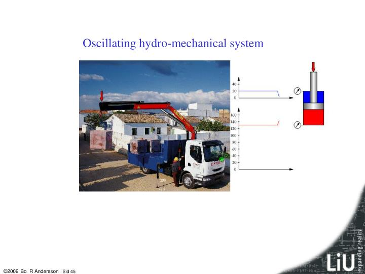 Oscillating hydro-mechanical system