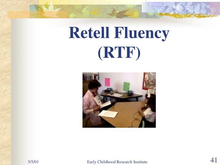 Retell Fluency