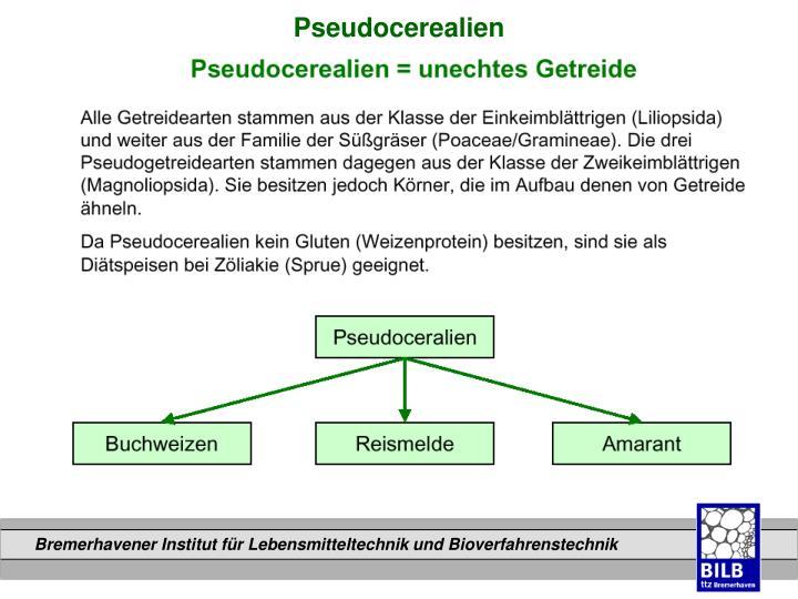 Pseudocerealien