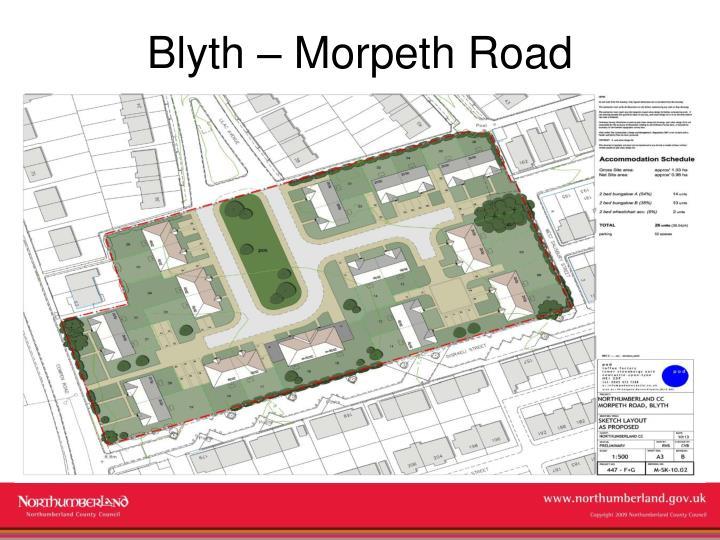 Blyth – Morpeth Road