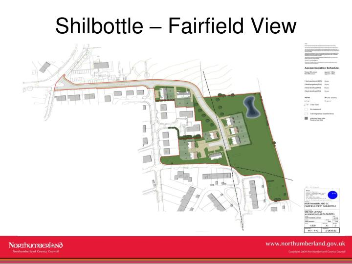 Shilbottle – Fairfield View