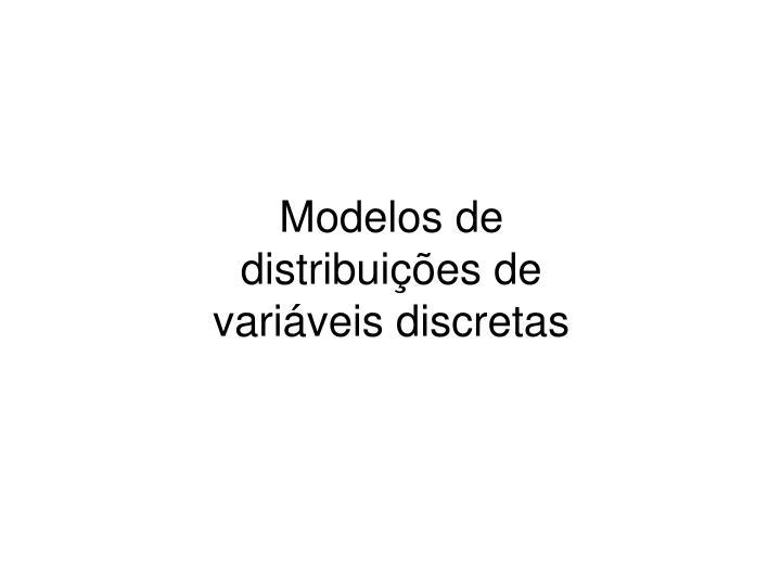 Modelos de