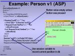 example person v1 asp