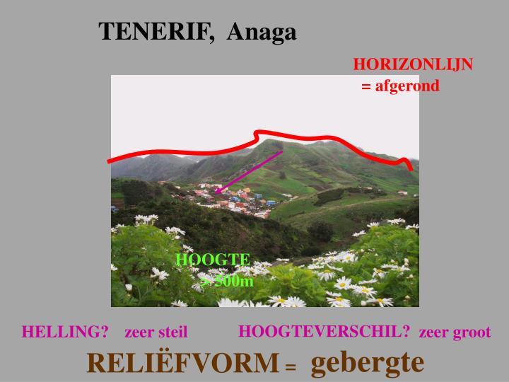TENERIF,  Anaga