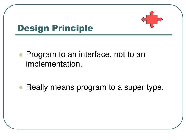 Design Principle