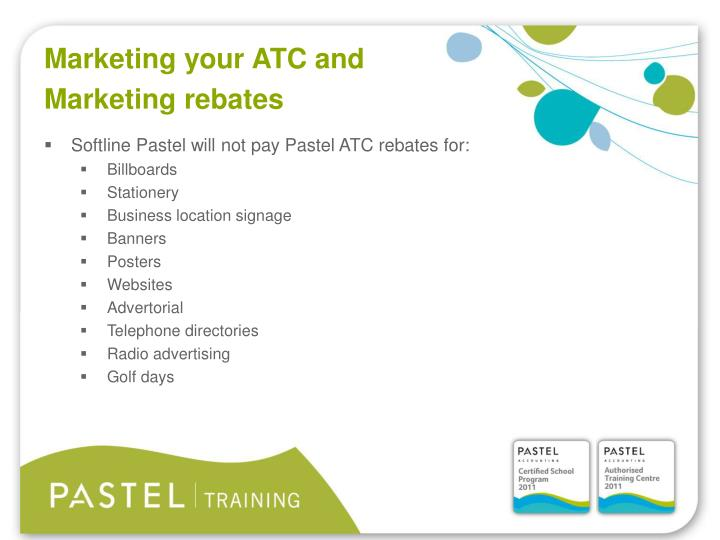 Marketing your ATC and