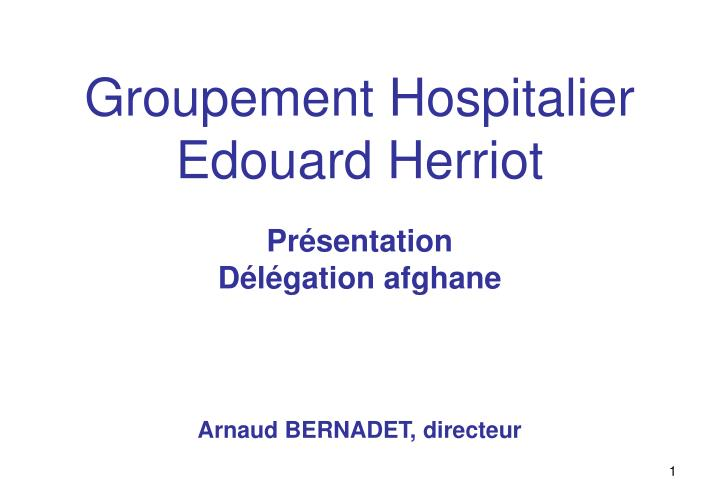 Groupement hospitalier edouard herriot