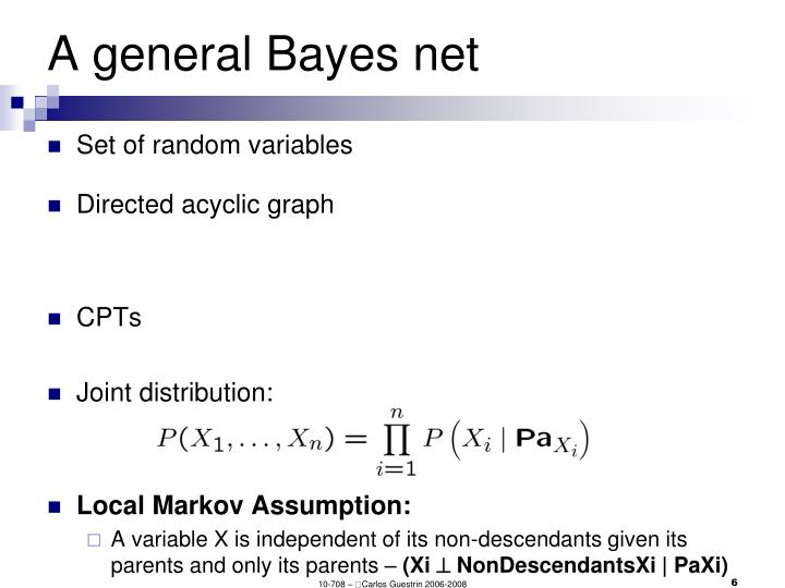 A general Bayes net